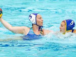 WATCH: Coast teams battle in water polo grand finals