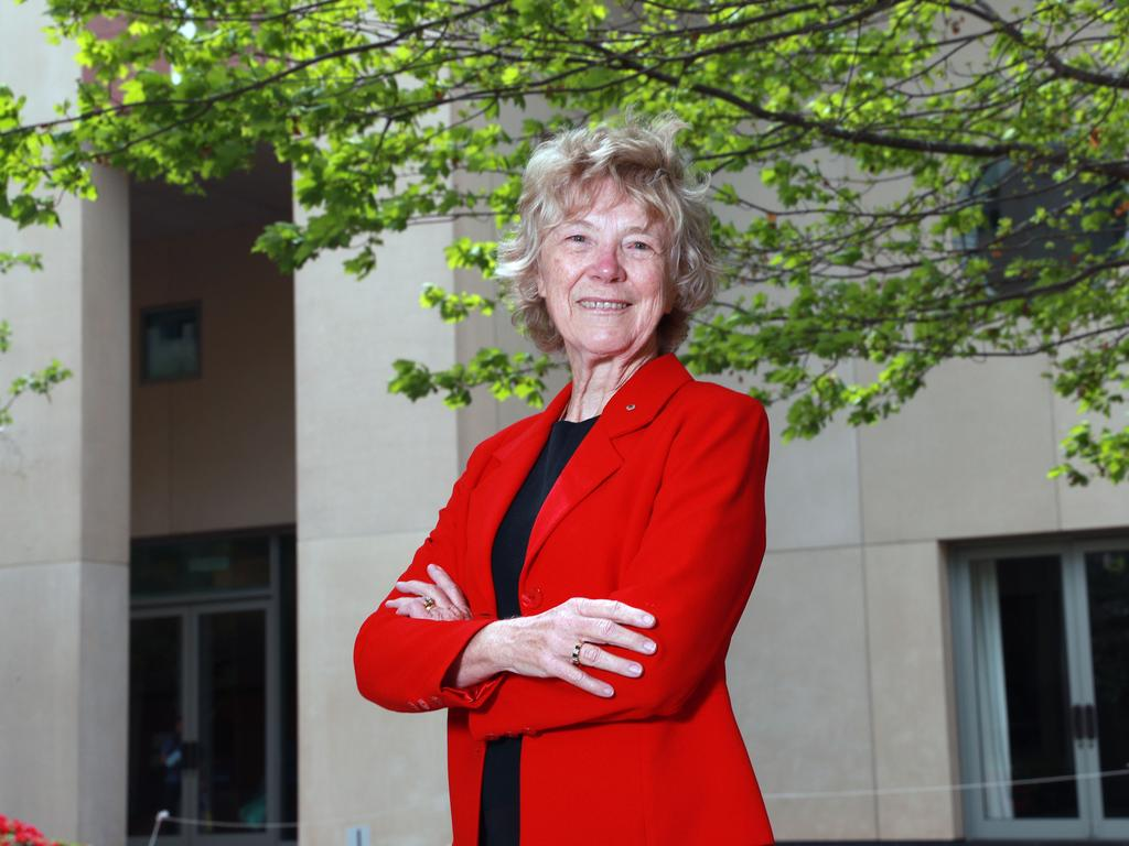 Emeritus Professor Cheryl Praeger has profoundly influenced the mathematics that underpins computer cryptography used for secure banking, digital signatures and internet connections. Picture Gary Ramage