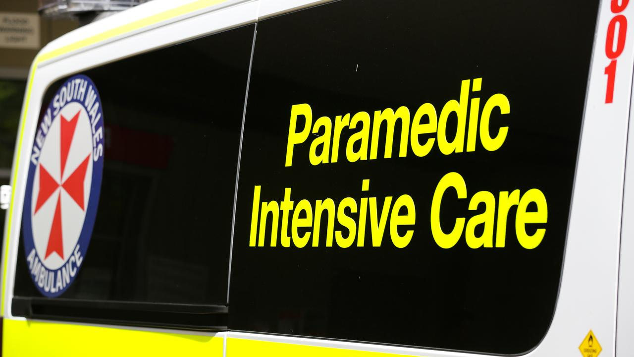 An eight-year-old boy has been rushed to hospital after falling 2.5m onto rocks at a Port Botany beach.