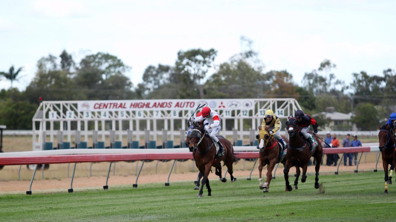 The Emerald Jockey Club is one of many across Central Queensland to receive funding for upgrades from the Queensland Government. Photo: file
