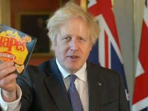'Raise a tinnie': UK PM's cheeky Australia Day message