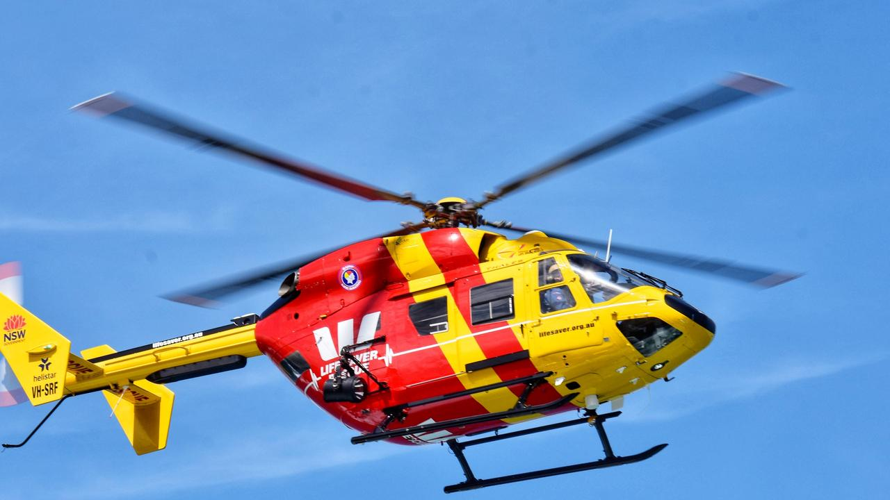Westpac Life Saver Rescue Helicopter. Source: Surf Life Saving Australia