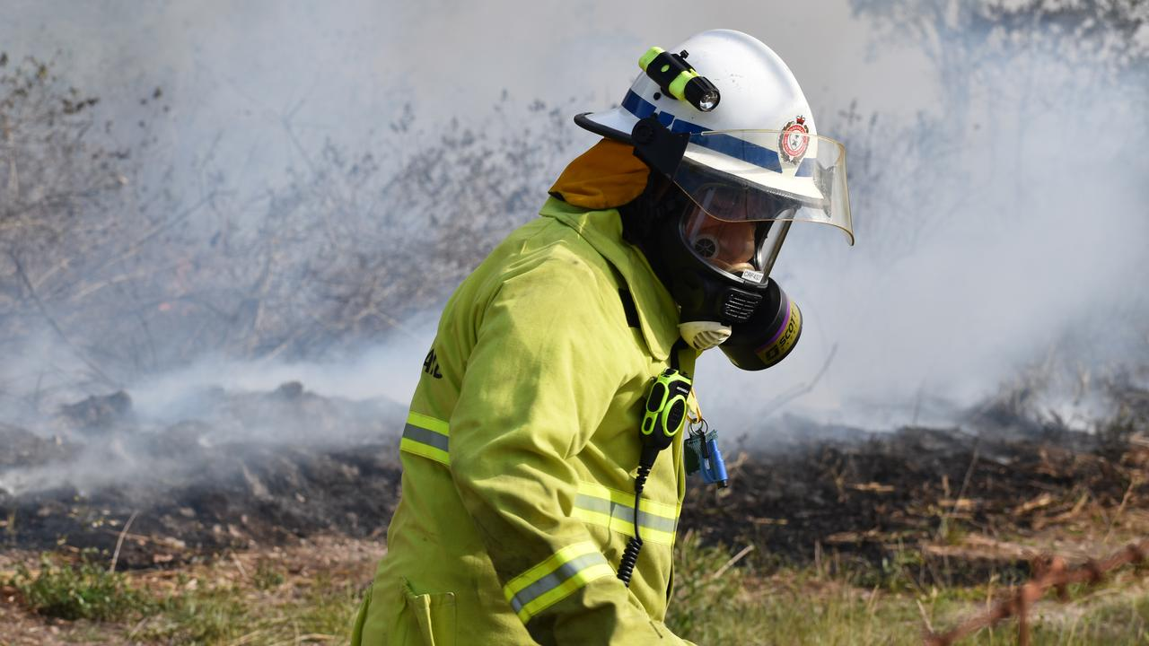 Queensland Fire and Emergency Services. Picture: Zizi Averill