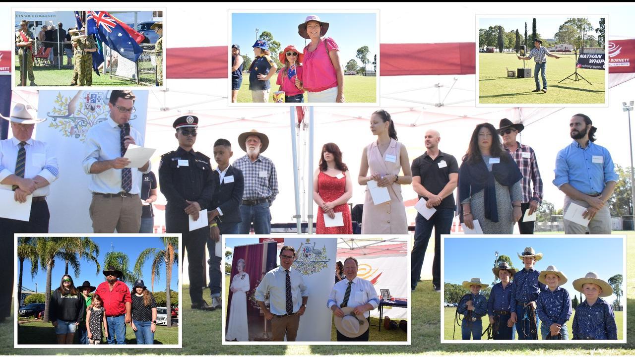 Kingaroy Australia Day celebrations. Photo/Tristan Evert