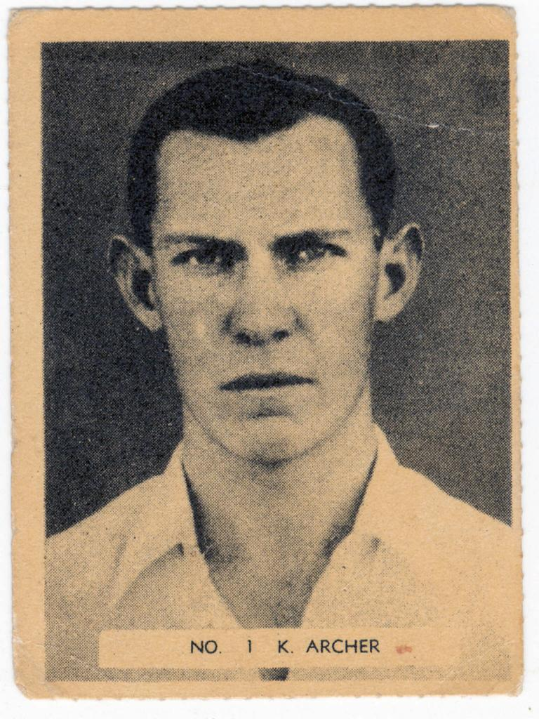 Ken Archer - headshot sport cricket