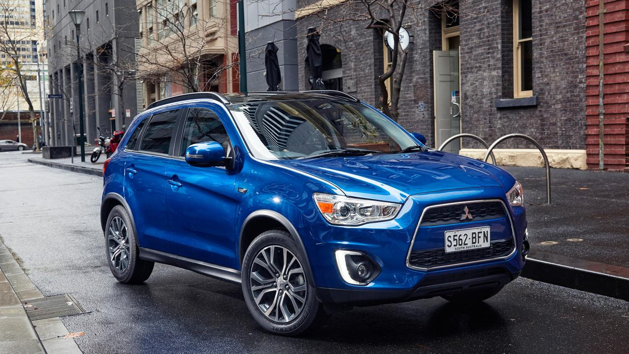 The Mitsubishi ASX has been one of the best selling SUVs for the past few years. Picture: Supplied.