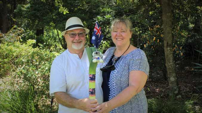 Coffs welcomes  citizens with open arms and an 'Aussie leek'