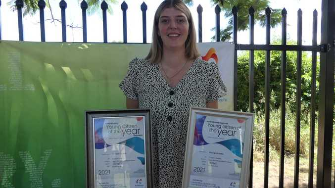 INSPIRING: From heart surgery to Young Citizen of the Year