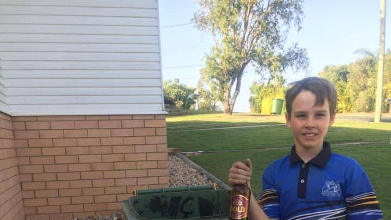 11-year-old Gympie boy Flynn Hutchison raised $5000 for various charities in 2020.