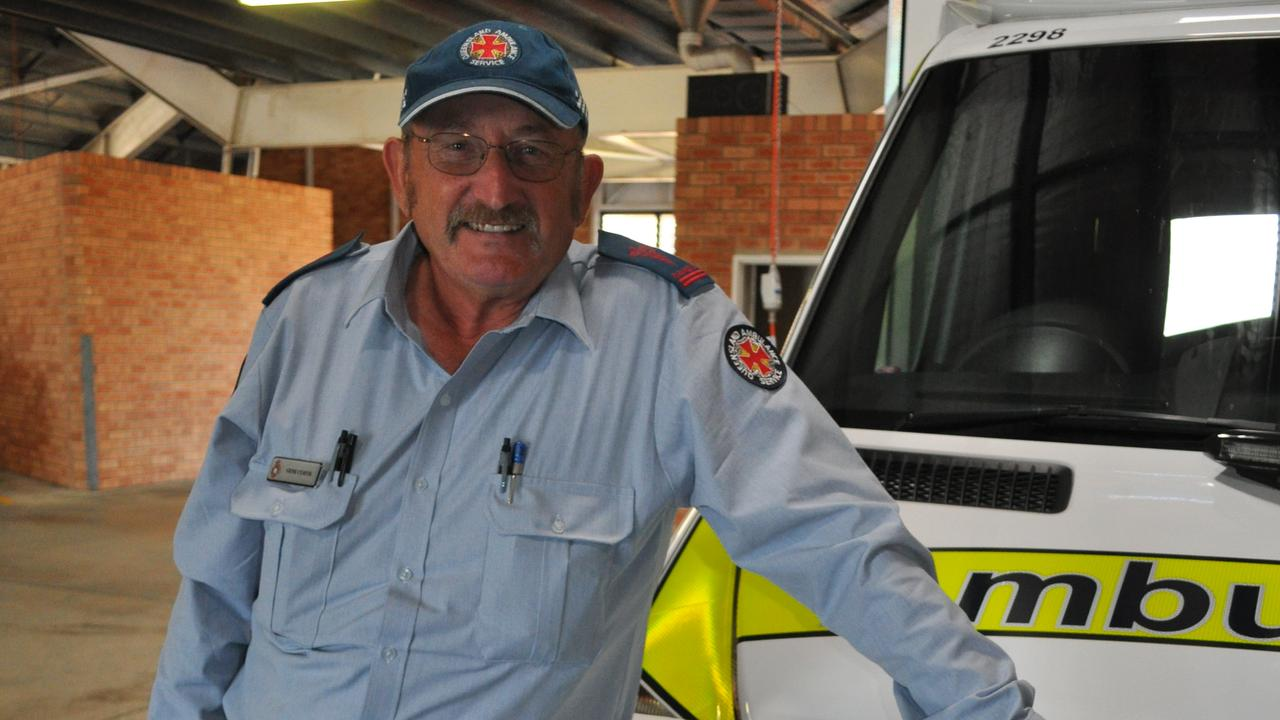 Bowen paramedic Gene Curtis has been named an Ambulance Service Medal recipient in the Australia Day 2021 Honours List. Photo: File