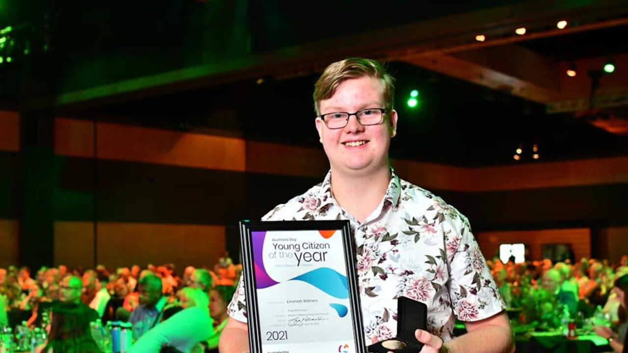 Young Citizen of the Year Emmett Withers started his charity Emmett 4 Animals when he was five years old and has gone on to help thousands of stray animals across the region.
