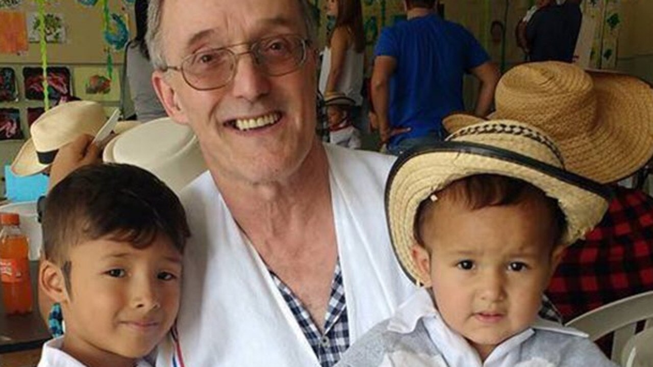 OUTPOURING OF LOVE: Grandfather Ben White with grandkids Jero and Thiago in 2017.