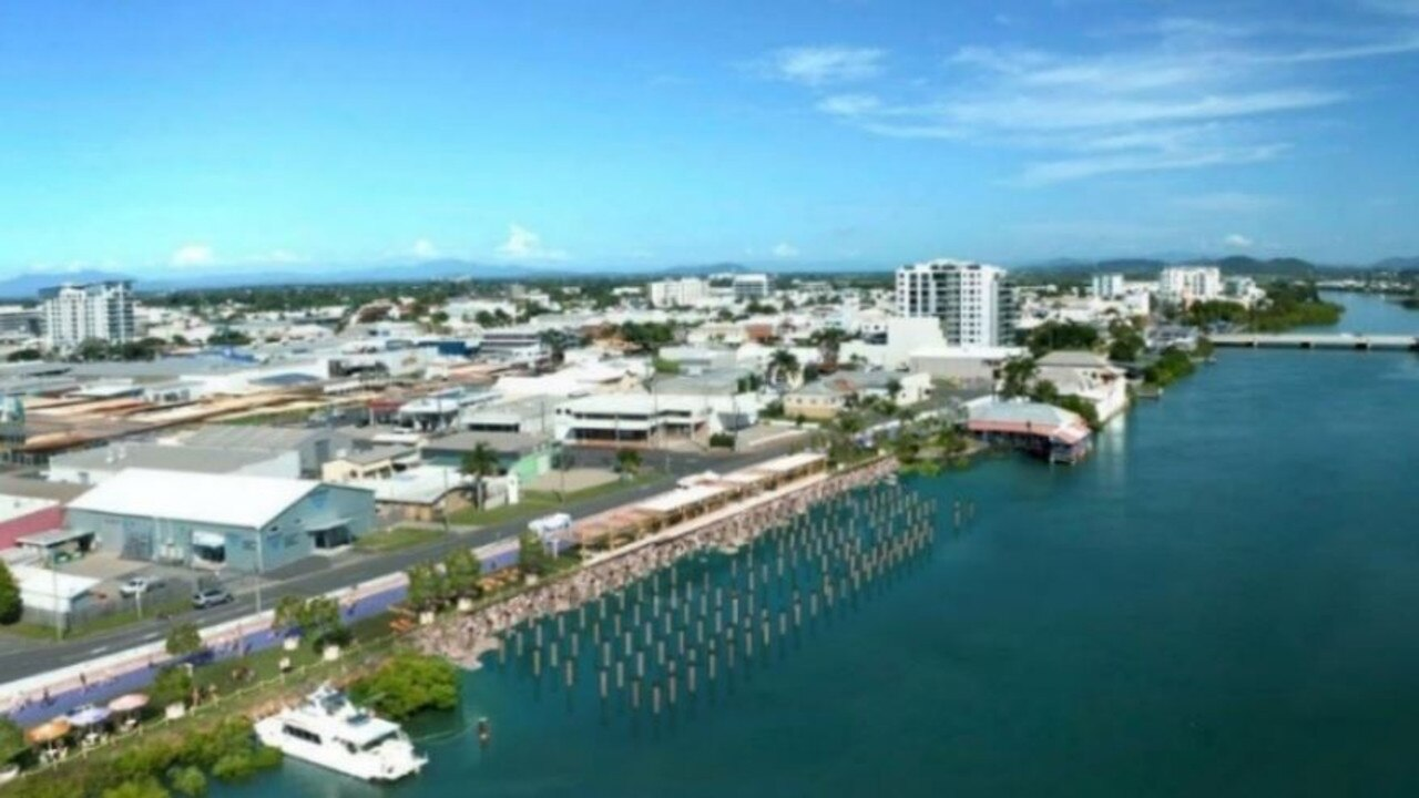 Proposed concept for 6 River Street site after demolition. Picture: Mackay Regional Council