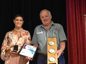 AUSTRALIAN SPIRIT: Top award for Lockyer  volunteer hero