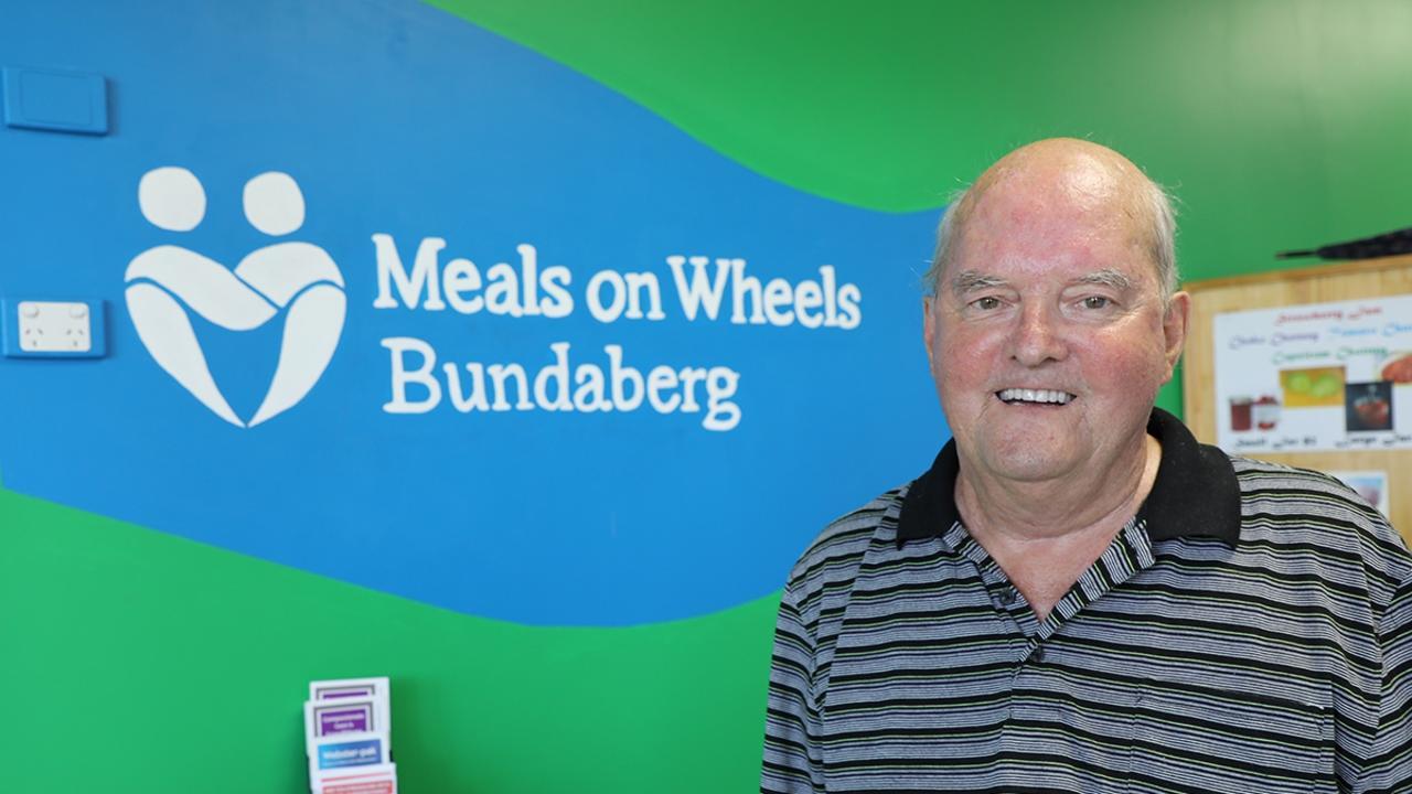 Jeffrey McColl Australian Senior Citizen of the Year award recipient. Photo: Paul Donaldson