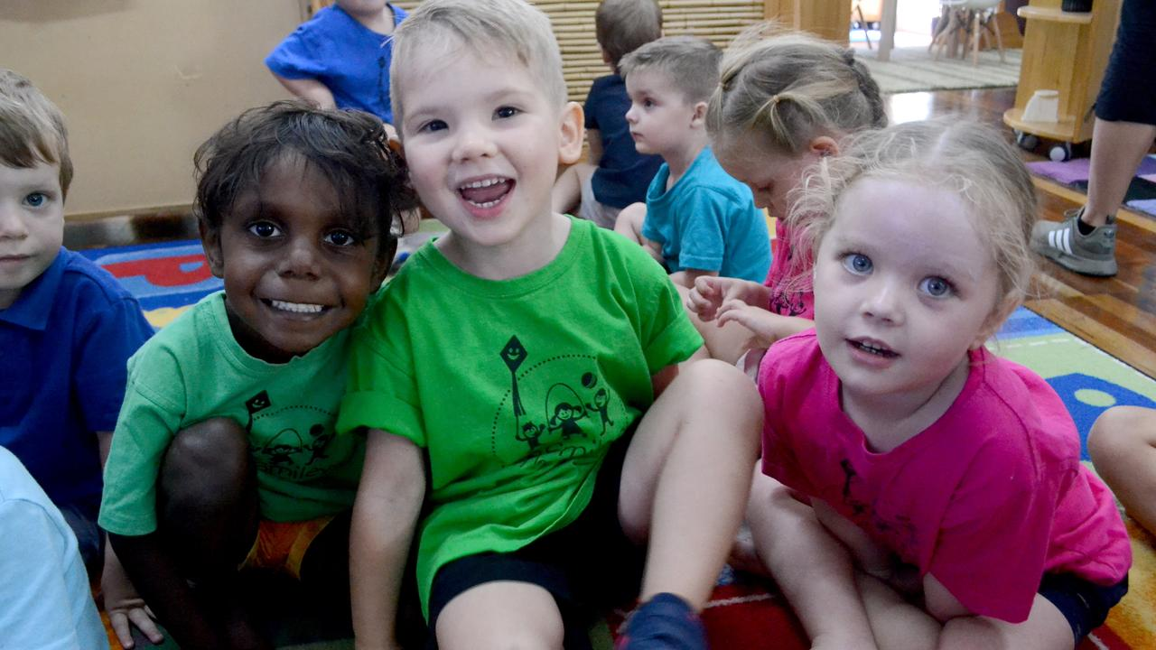 Le Smileys Early Learning Centre in North Rockhampton's first week at kindergarten