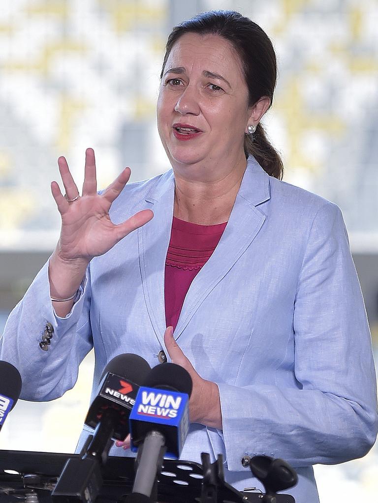 Queensland Premier Annastacia Palaszczuk. PICTURE: MATT TAYLOR.