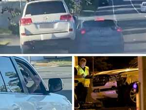 Minutes from tragedy: Horror road rage before fatal smash
