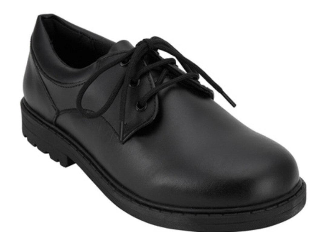 Kmart senior lace up school shoes