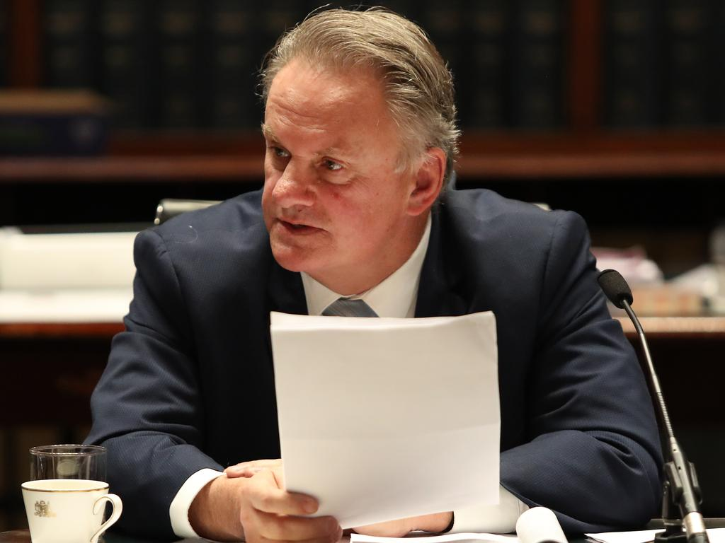 One Nation NSW Leader Mark Latham. Picture: Richard Dobson