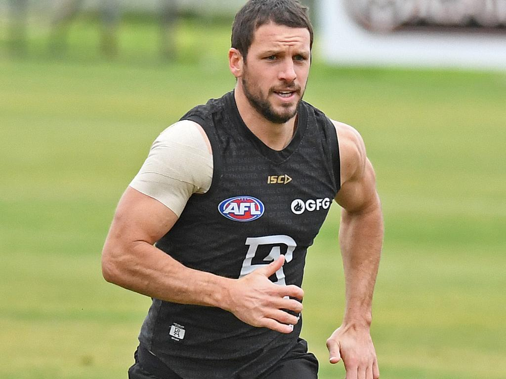 Travis Boak has produced personal-best numbers in his past two seasons. Picture: Tom Huntley