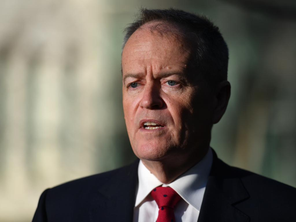 Former Labor leader Bill Shorten. Picture: AAP/Mick Tsikas
