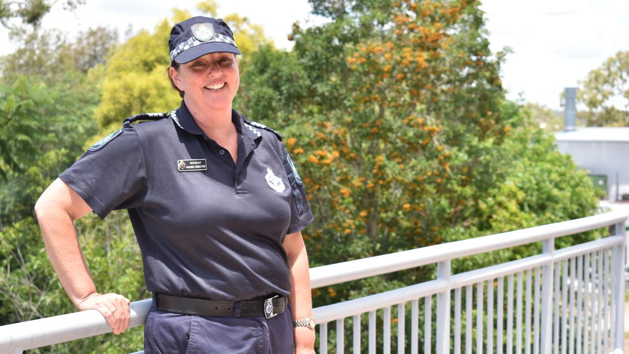Sergeant Nadine Webster was awarded an Australian Police Medal on January 26, 2021. Photo: Ebony Graveur