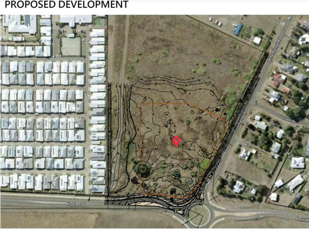 BARGARA DEVELOPMENT: A material change of use application has been lodged with the Bundaberg Regional Council for a site on Rifle Range Rd, Bargara. Source: Development application, PD Online.