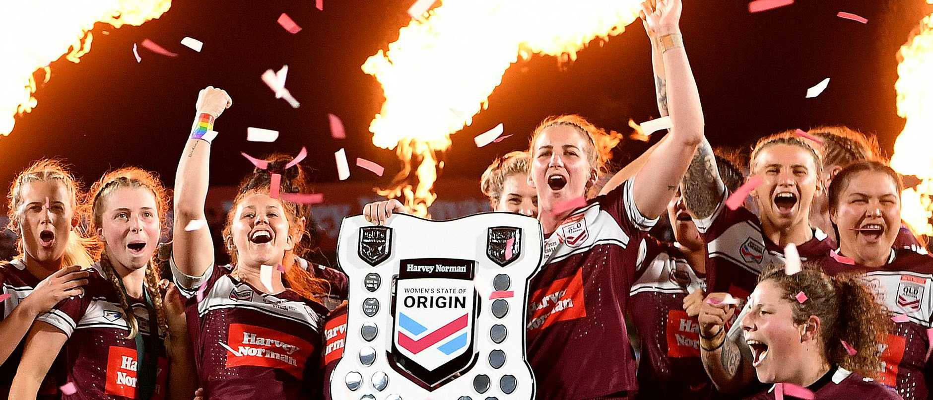 Women's State of Origin - QLD v NSW