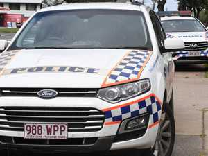 Debris, fluid on road after nose-to-tail at Redbank Plains