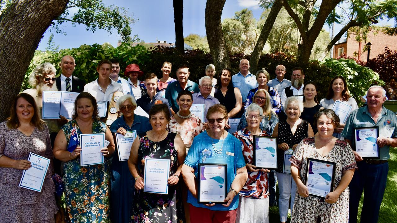 Lockyer Valley 2021 Australia Day Awards Ceremony at the Gatton Shire Hall. Photos: Hugh Suffell (NCA).