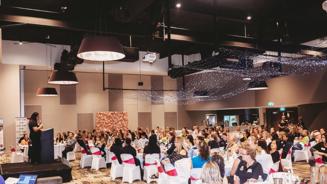 Photos from last year's GEA International Women's Day Empowering Women conference at the Gladstone Entertainment and Convention Centre.