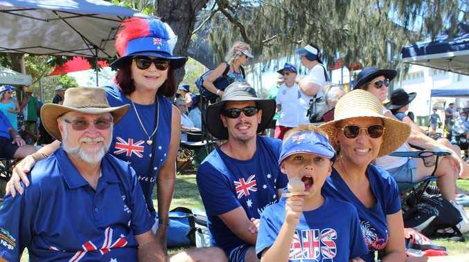 PHOTOS: Fun in the sun on Australia Day