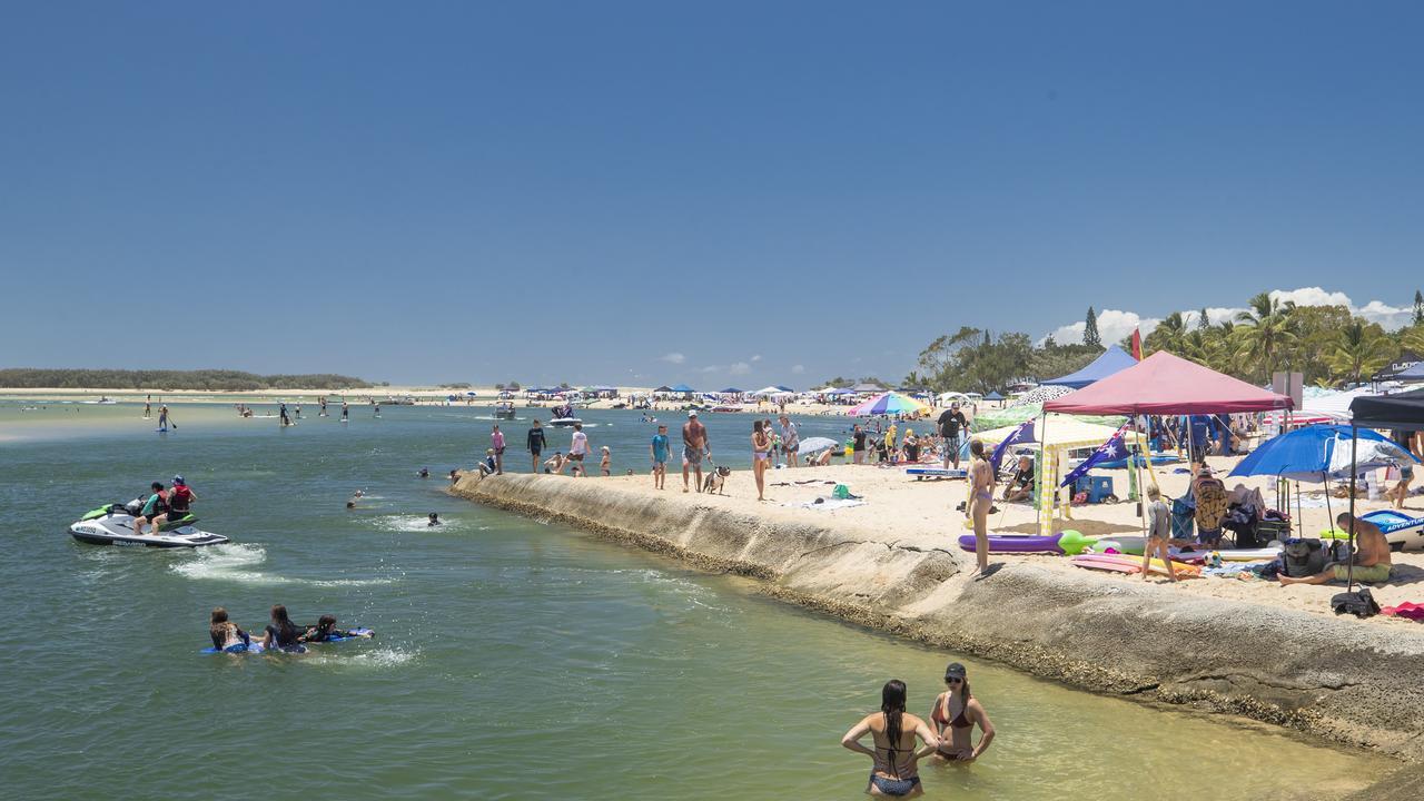 Visit Sunshine Coast has launched a new tourism campaign. Picture: Lachie Millard