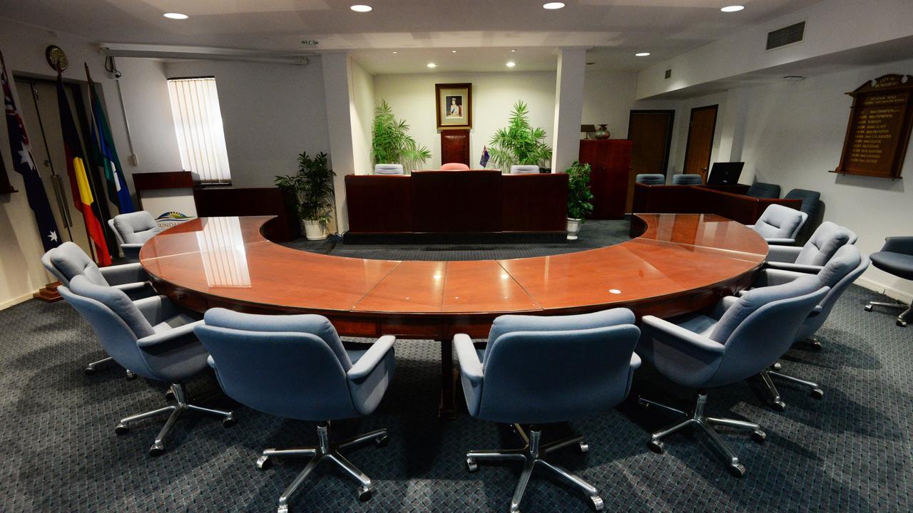The Bundaberg Council Chambers. Photo: Mike Knott / NewsMail