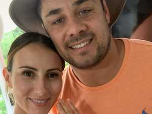 Hayne married after rapid engagement