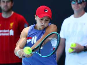 Photos reveal Barty's secret Australian Open weapon