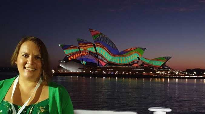 Once-in-a-lifetime Opera House piece from Yaegl artist