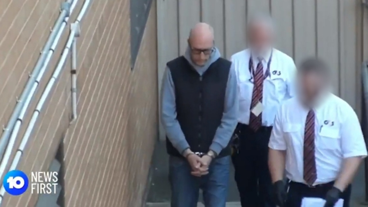 Moyle was arrested twice as SA's Joint Anti-Child Exploitation Team pursued and expanded their case against him. Picture: 10 News First.