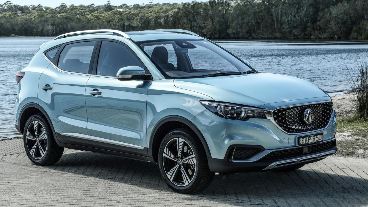 The Chinese-built MG ZS EV is currently the cheapest electric car on sale in Australia.