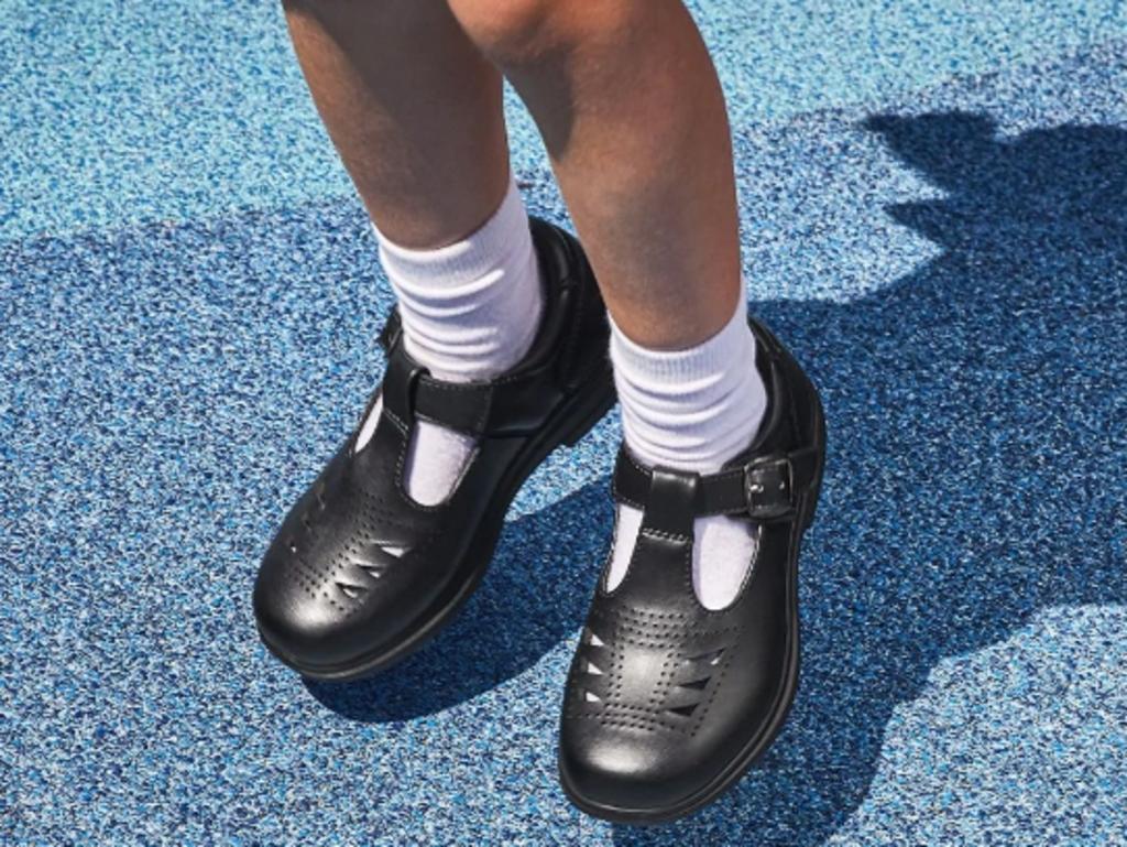 Target Gro shu T Bar leather school shoe.