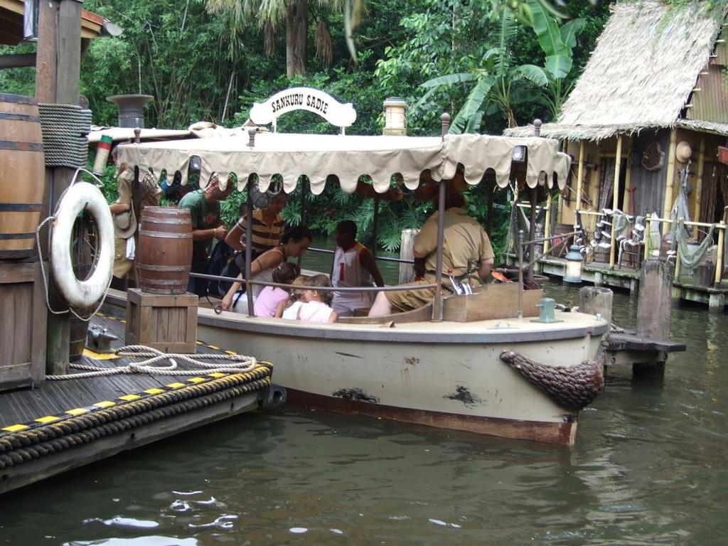 The Jungle Cruise ride first launched at Disneyland in 1955. Picture: Wikimedia Commons