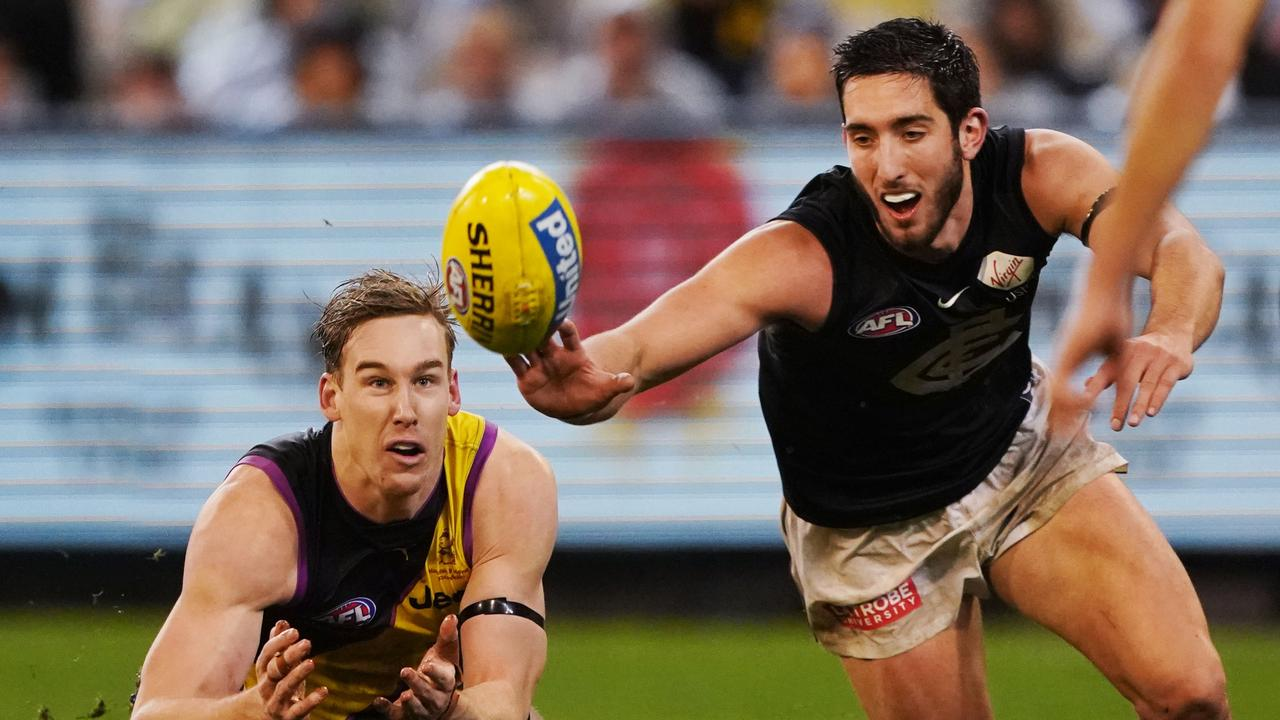 Carlton and Richmond will open the AFL season. Picture: AAP Images