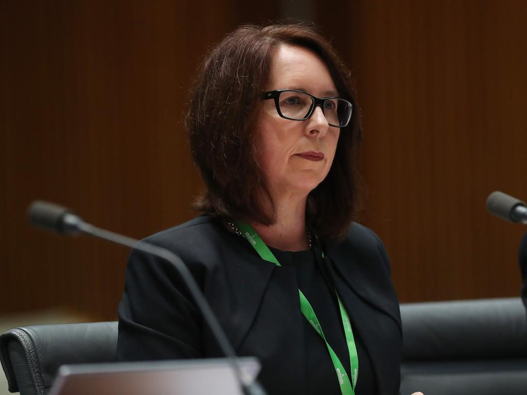 Office of the Australian Information Commissioner Angelene Falk said the compensation recognises that a loss of privacy or disclosure of personal information may impact individuals. Picture: Kym Smith