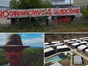 'No Carona': Gladstone man's clear protest against State Gov