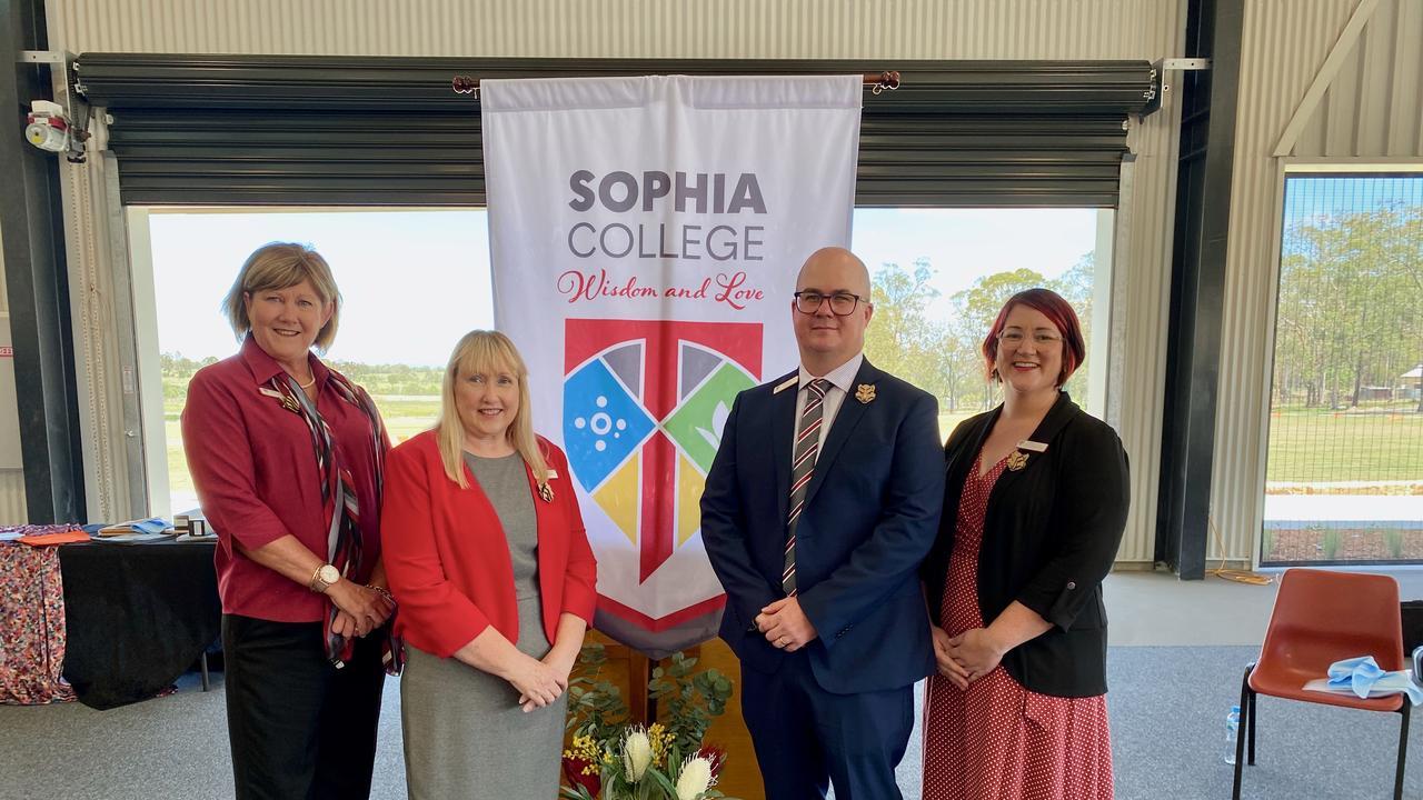 Sophia College Senior Leadership Team. Photo: Hugh Suffell.
