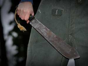 Man accused of hacking at 57yo CQ man with machete