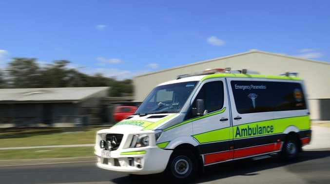 Woman hurt in two-car crash