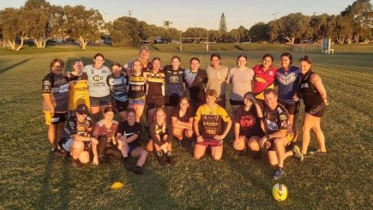 The Falcons U19 women have been busy training ahead of their debut in March.