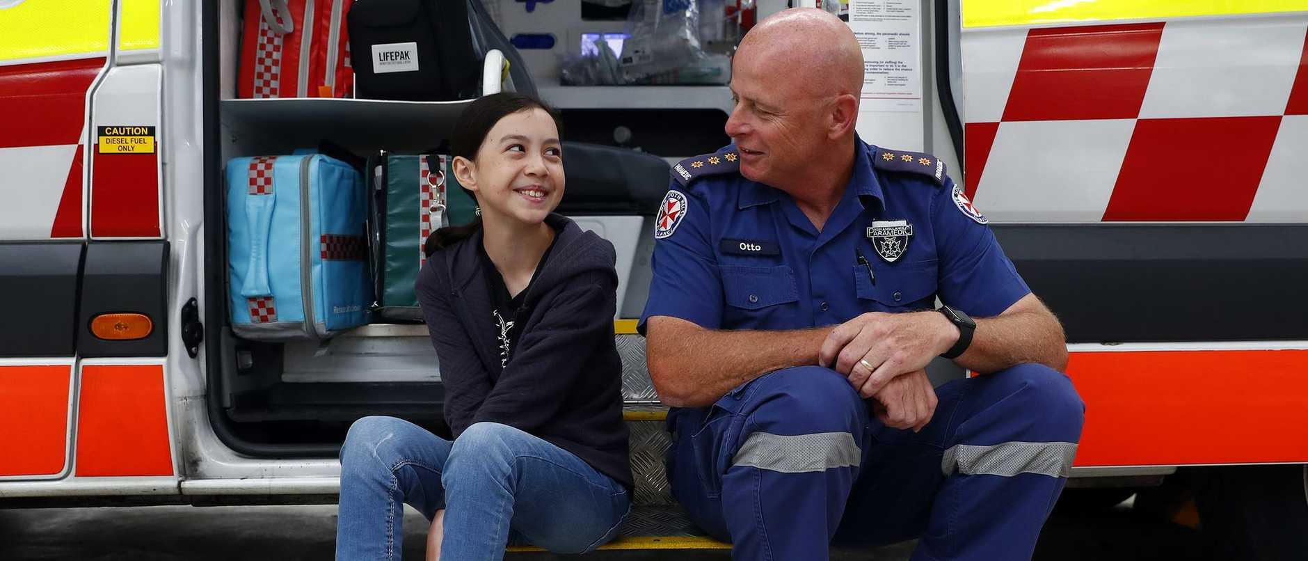 Kaitlyn Hunt, 10, Suffered a Cardiac Arrest